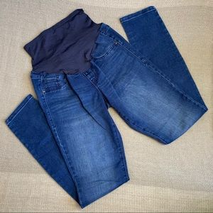 OLD NAVY MATERNITY Skinny Jeans with Belly Panel